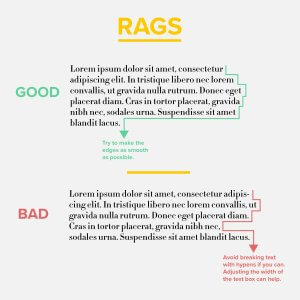 Rags Graphic Design Example