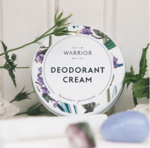 Warrior Botanicals Deodorant Cream