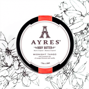 Ayres Beauty midnight tango body butter
