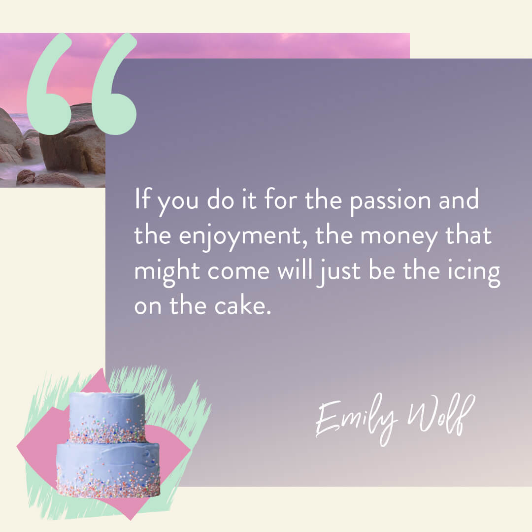 Emily Wolf quote