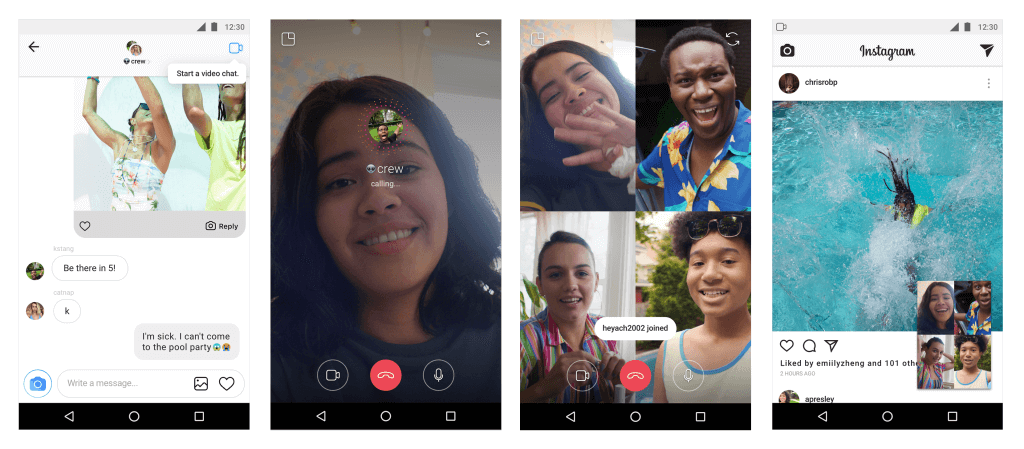 New Instagram Features Video Chat