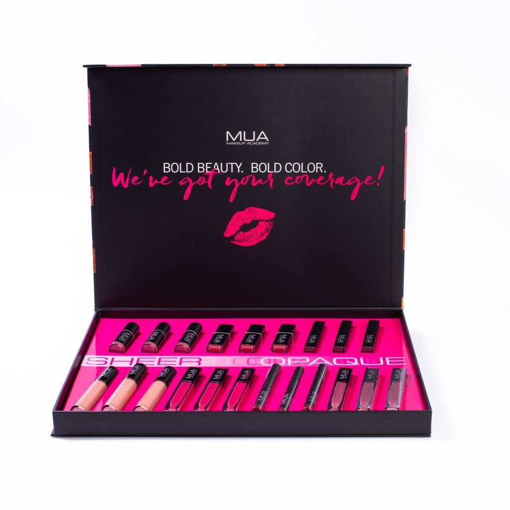 MUA Influencer Box design by Cindy Viera