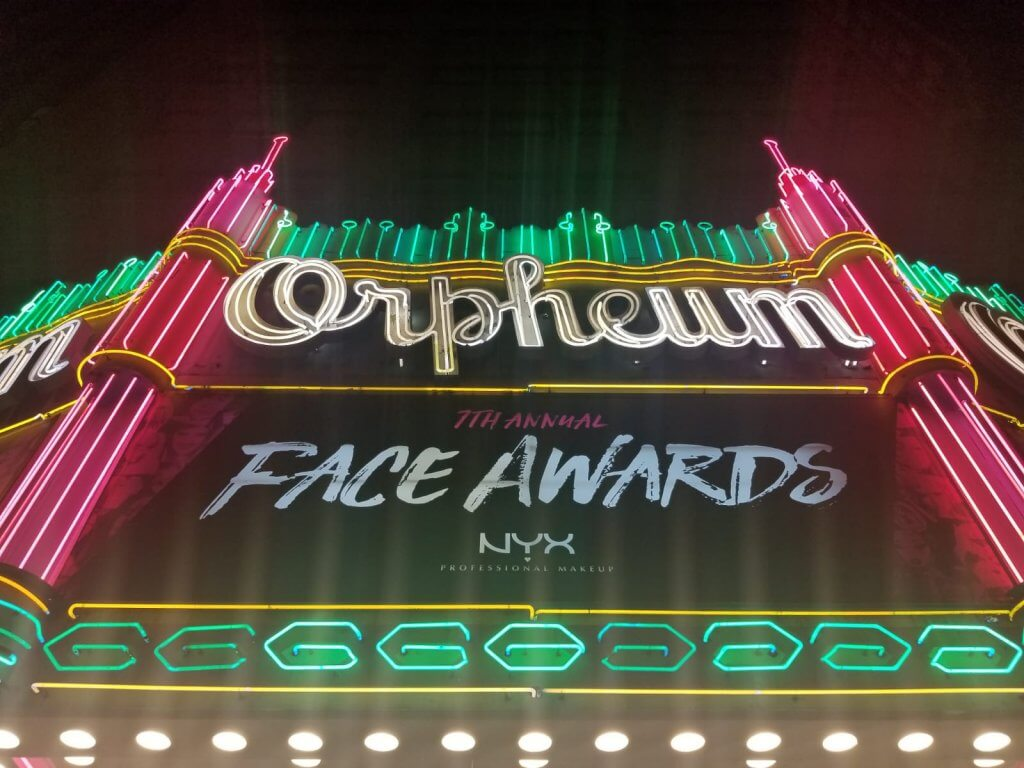 NYX Face Awards Orpheum Theatre