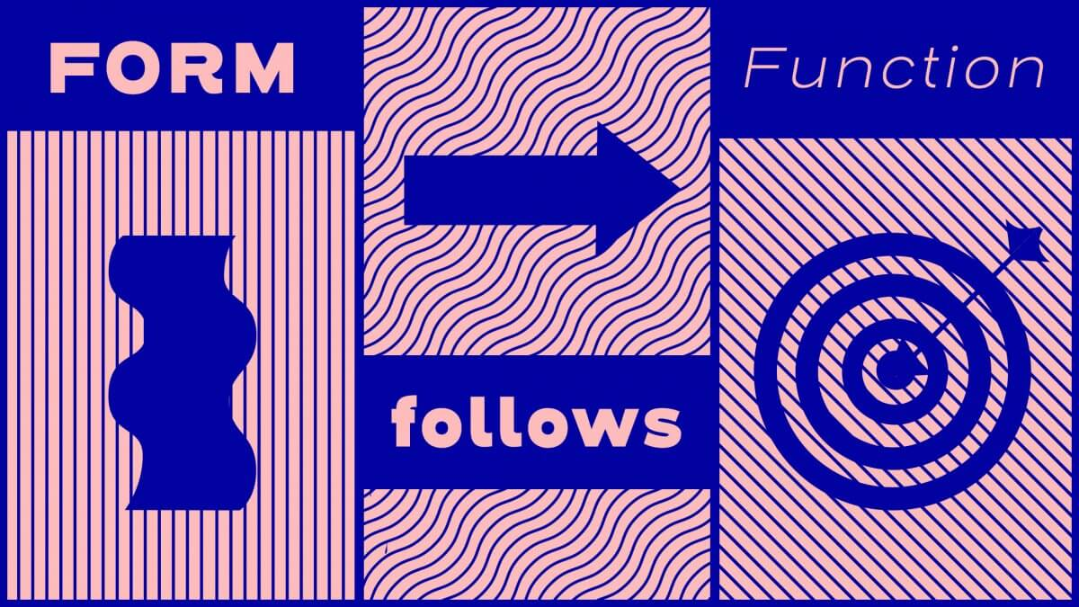 Form Follows Function: Why Graphic Design is Different Than Art