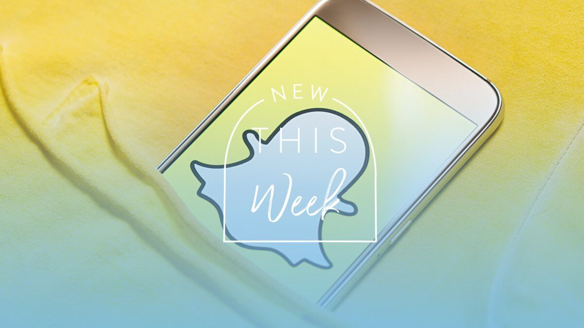 New This Week: Snapchat and Amazon Team Up For New Visual Search Feature
