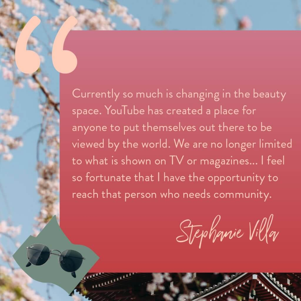 Stephanie Villa Soothing Sista quote