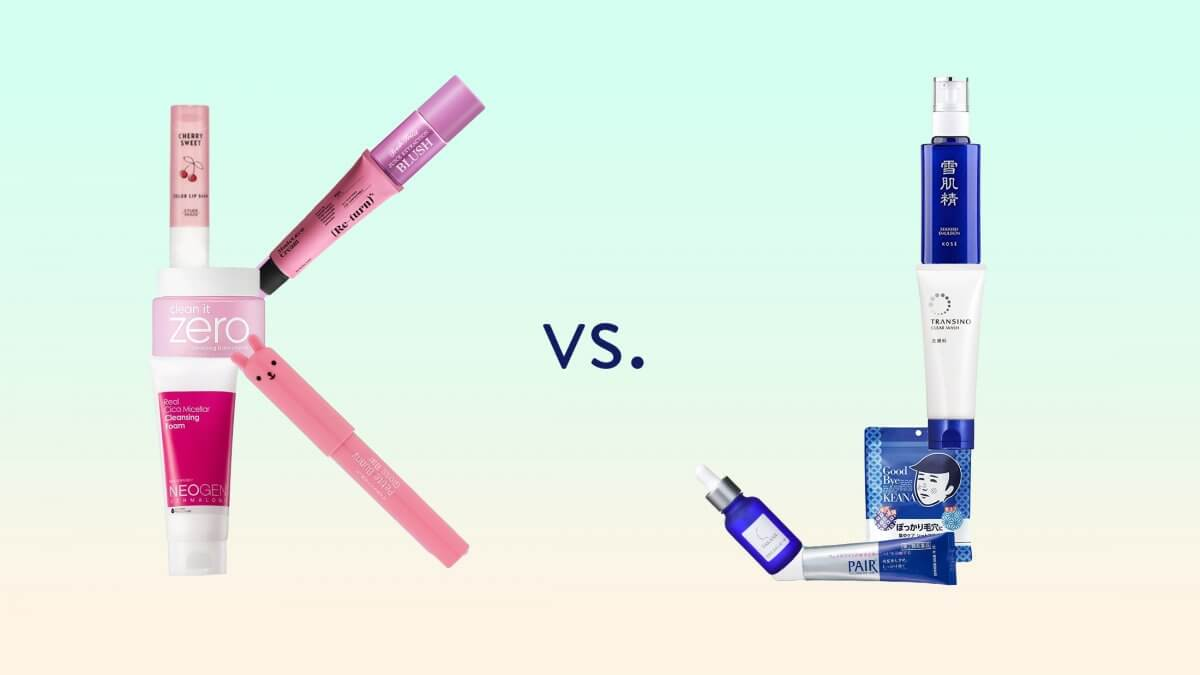 K-Beauty vs. J-Beauty: Similarities and Differences