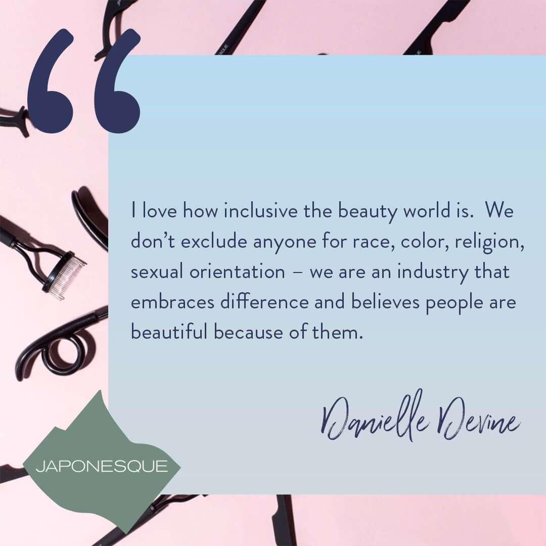 Danielle Devine Japonesque quote