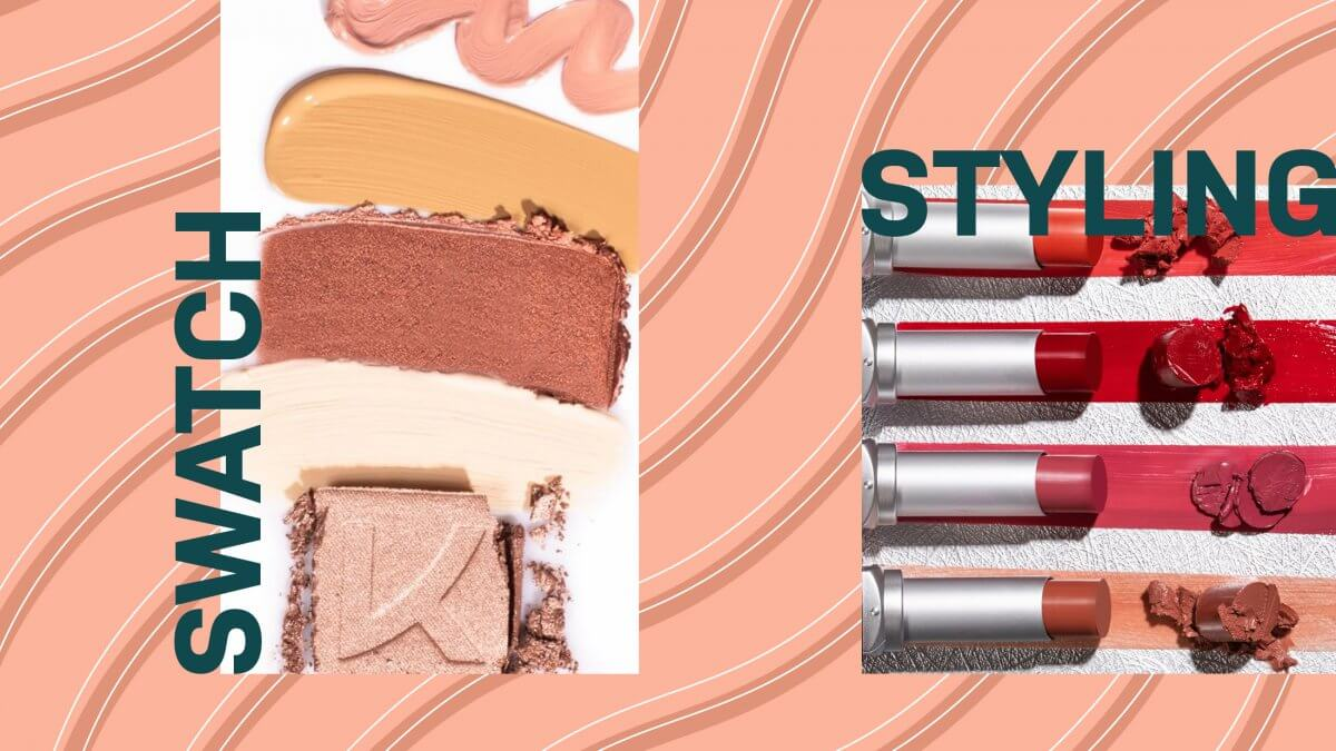 Swatch Styling: How to Create Makeup Swatches for Photography