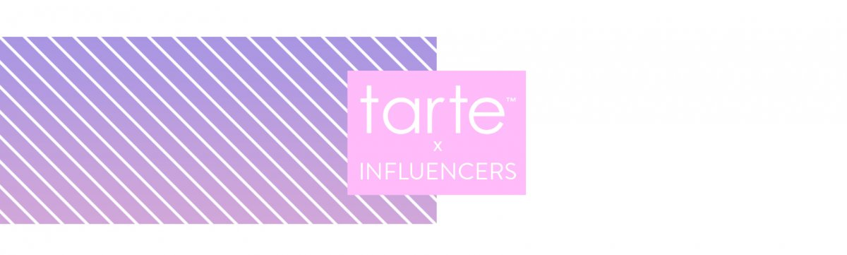 Tarte influencer marketing strategy
